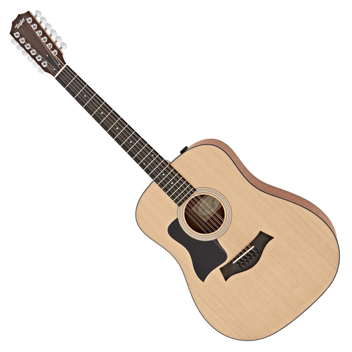 taylor 150e left handed 12 string dreadnought electro acoustic guitar at. Black Bedroom Furniture Sets. Home Design Ideas