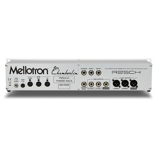 Mellotron M4000D Rack - Rear