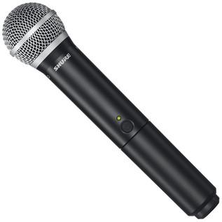 Shure BLX24UK/PG58 Handheld Wireless Microphone System