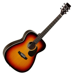 Tanglewood TW6 Orchestra Acoustic Guitar, Tobacco Burst