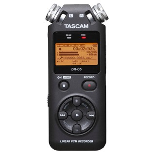 Tascam DR-05 Portable Handheld Audio Recorder - Front