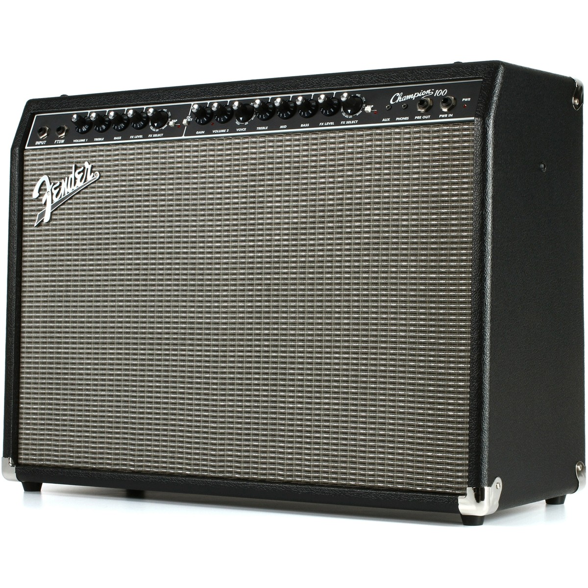 fender champion 100 guitar combo amp with effects box opened at. Black Bedroom Furniture Sets. Home Design Ideas