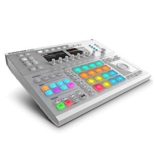 Native Instruments Maschine Studio with Komplete 11 ULT, White - Maschine Studio Angled 2