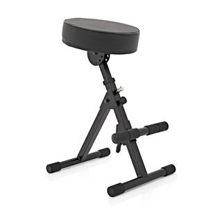 Adjustable Musicians Stool by Gear4music
