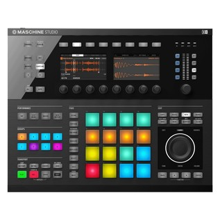 Native Instruments Maschine Studio with Komplete 11 ULT, Black - Top