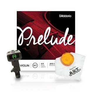 DAddario Prelude Violin String Promotion Pack 4/4, Medium