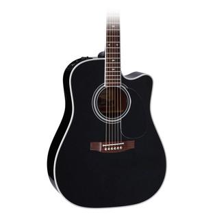 Takamine EF341SC Electro Acoustic Guitar, Black