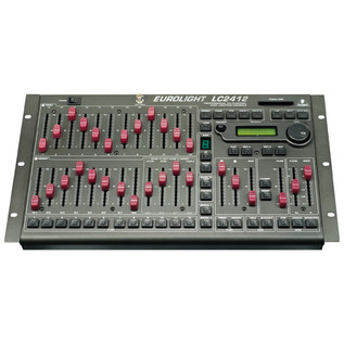 Behringer LC2412 Eurolight Professional 24-Channel Lighting Console (Main)