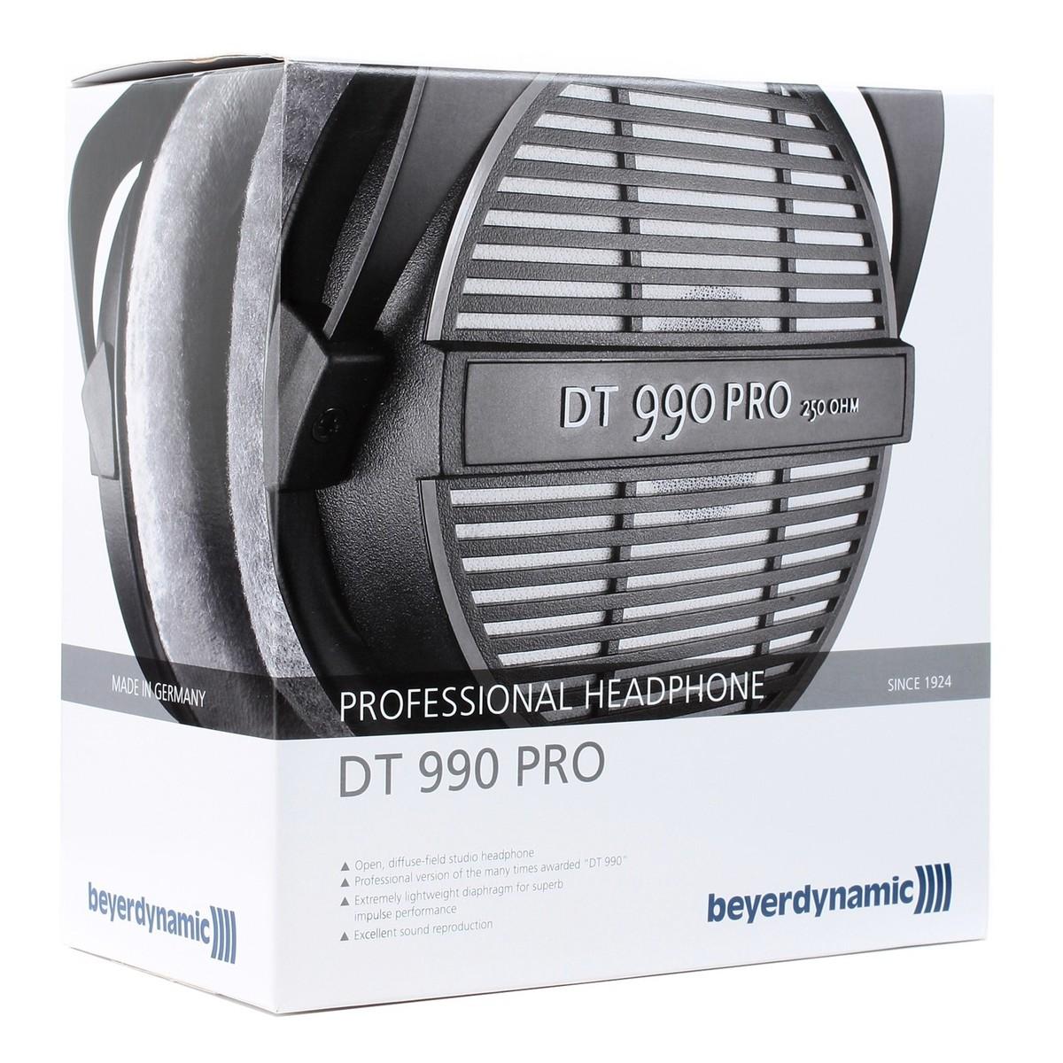 beyerdynamic dt 990 pro headphones 250 ohm at. Black Bedroom Furniture Sets. Home Design Ideas