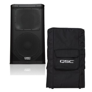 QSC KW122 Active PA Speaker with Padded Cover