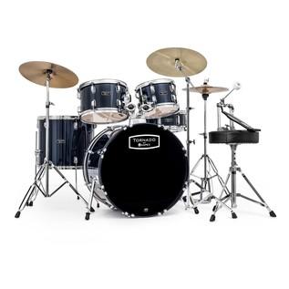 Mapex Tornado III 22'' Rock Drum Kit, Blue with Extra Crash