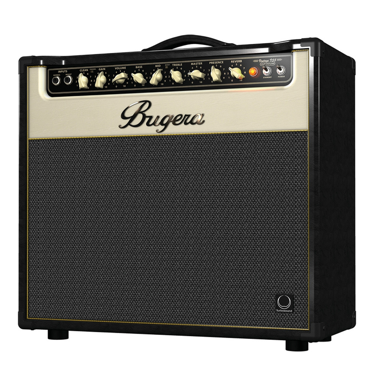 Bugera v55 infinium 55 watt vintage 2 channel tube combo amp b stock