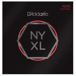 DAddario NYXL1052 Nickel Wound, Light/Heavy, 10-52