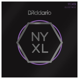 DAddario NYXL1149 Nickel Wound Electric Guitar Strings, Medium, 11-49