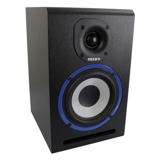 Mixars MXM5 Studio Monitors with Stands - Monitor Angled
