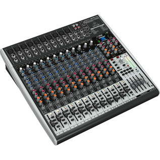 Behringer Xenyx X2442USB Mixer - Side View