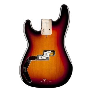 Fender USA Precision Bass Body, LH 3-Colour Sunburst