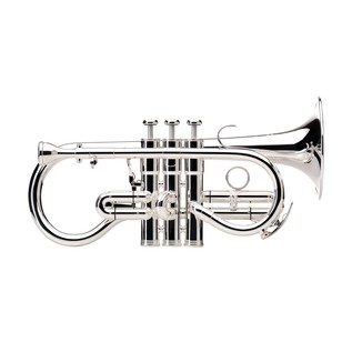 Besson Sovereign Soprano BE924G Eb Cornet, Silver Plated