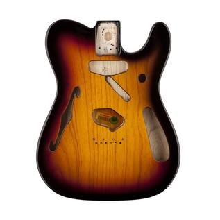 Fender '69 Thinline Telecaster SS Ash Body, 3-Colour Sunburst