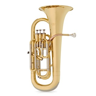 Coppergate Intermediate 4 Valve Euphonium by Gear4music