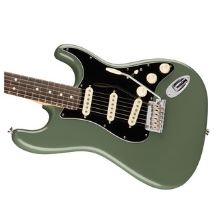 Fender American Pro Stratocaster RW, Antique Olive