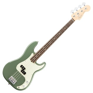 Fender American Pro Precision Bass Guitar RW, Antique Olive