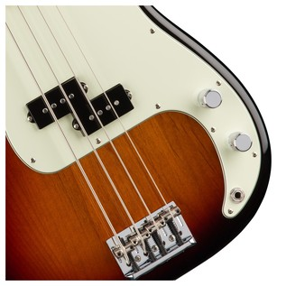 Fender American Pro Precision Bass Guitar, 3-Tone Sunburst