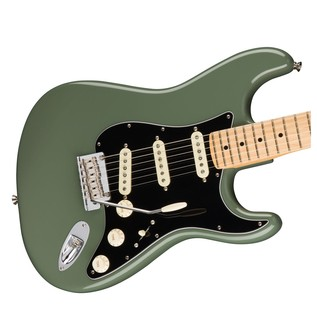 Fender American Pro Stratocaster MN, Antique Olive