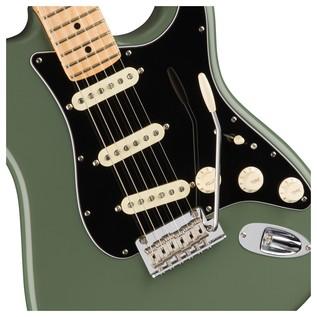 Fender American Pro Stratocaster MN, Antique Olive