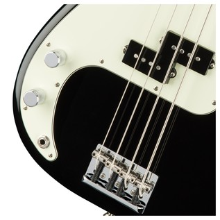 American Pro Precision Left Handed Bass RW, Black