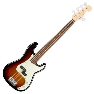 Fender American Pro Precision V Bass Guitar RW, 3-Tone Sunburst