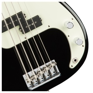 American Pro Precision V Bass Guitar MN, Black
