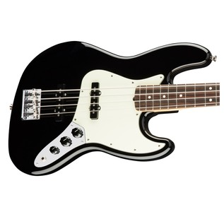 Fender American Pro Jazz Bass Guitar, Black
