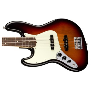 Fender American Pro Jazz Left Handed Bass Guitar RW