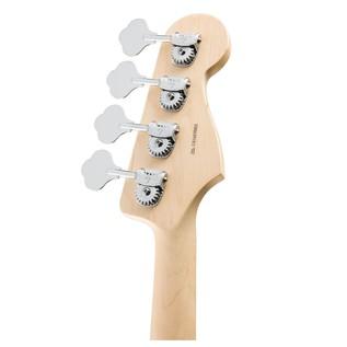 American Pro Jazz Left Handed Bass Guitar RW, Sonic Grey
