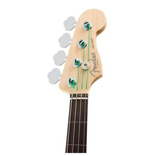 American Pro Jazz Fretless Bass, 3-Tone Sunburst