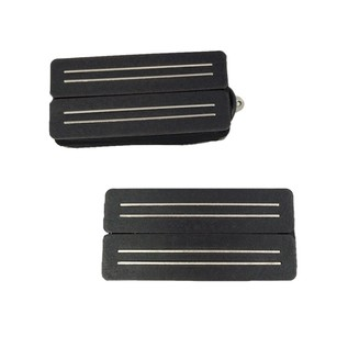 Bare Knuckle Pickups Alnico Black Hawk Humbuckers, Black