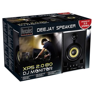 Hercules XPS 2.0 80 DJ Monitor Speakers - Boxed
