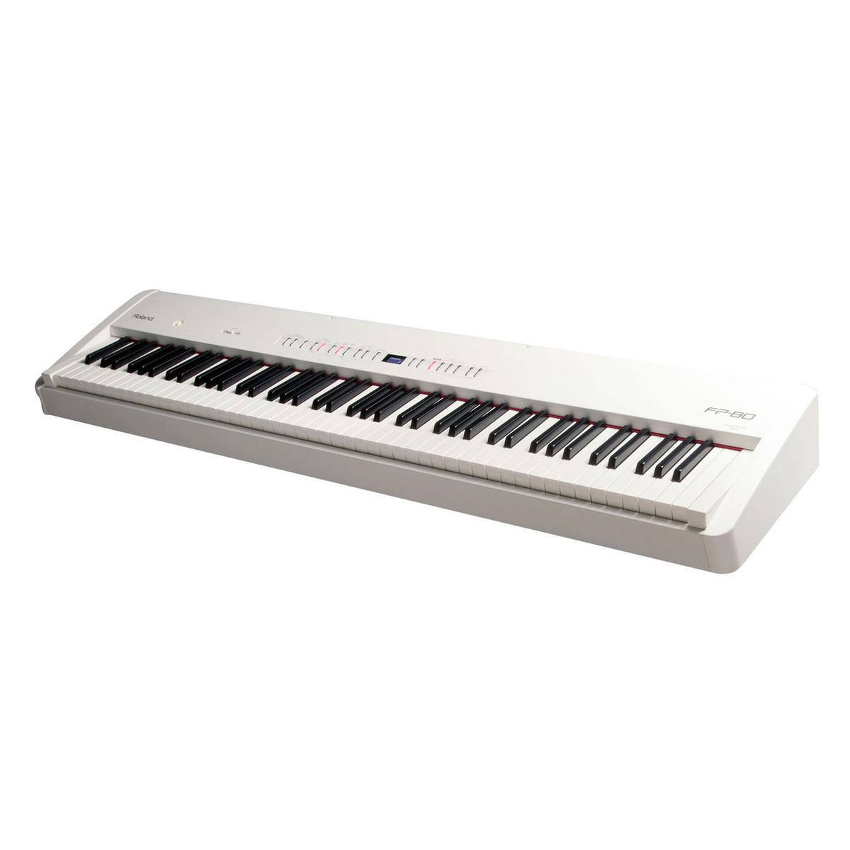 roland fp 80 supernatural digital piano white box opened at. Black Bedroom Furniture Sets. Home Design Ideas
