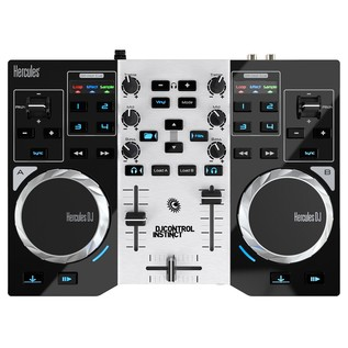 Hercules DJ Control Instinct S DJ Controller - Top