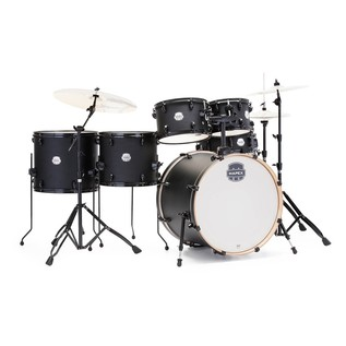 Mapex Storm 20'' Fast Fusion Drum Kit w/ free floor tom, Deep Black