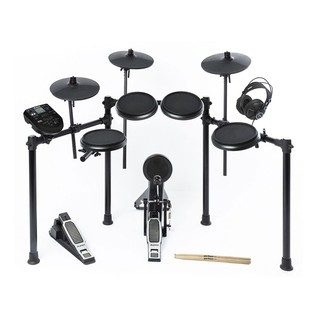 Alesis Nitro 8-Piece Electronic Drum Kit with Headphones & Sticks