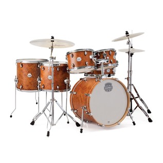 Mapex Storm 22'' Rock Fusion Drum Kit w/ Free Floor Tom, Camphor Wood