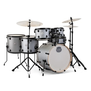 Mapex Storm 22'' Rock Fusion Drum Kit w/ Free Floor Tom, Iron Grey