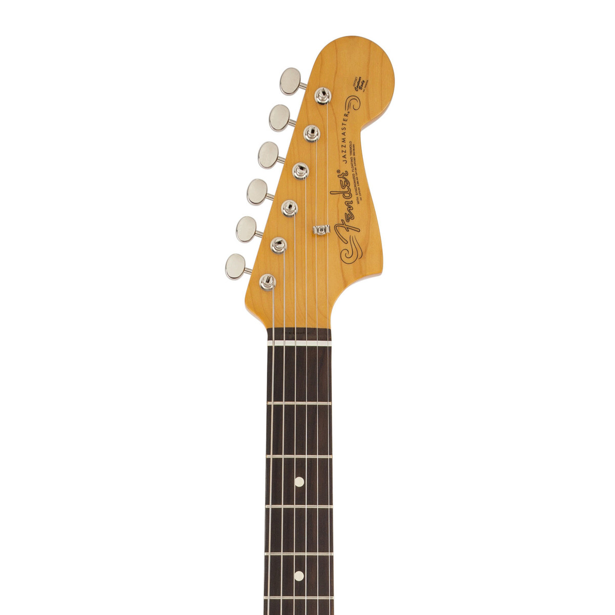 fender 60s jazzmaster lacquer electric guitar surf green box opened at. Black Bedroom Furniture Sets. Home Design Ideas