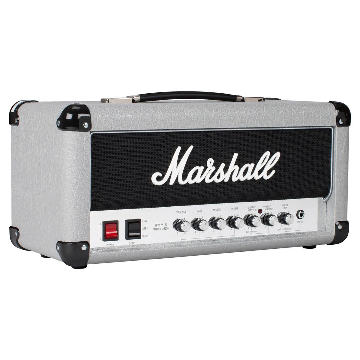 marshall 2525h 20 watt mini jubilee guitar amp head box opened at. Black Bedroom Furniture Sets. Home Design Ideas