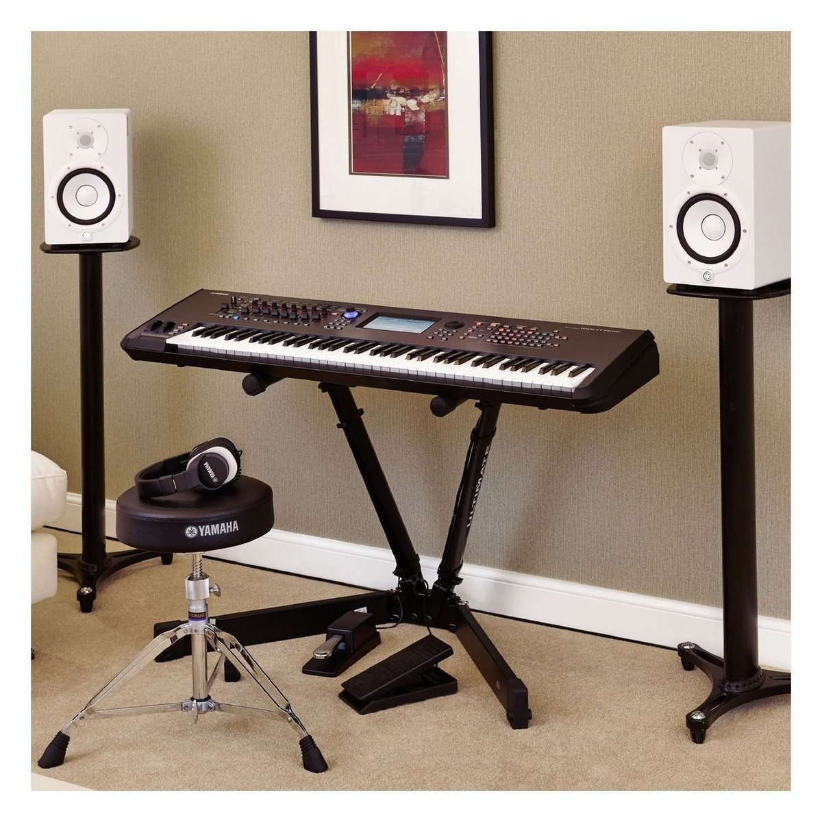 yamaha montage 8 synthesizer at. Black Bedroom Furniture Sets. Home Design Ideas