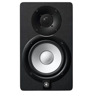 Yamaha HS5 Active Studio Monitors (Pair) with Stands - Front