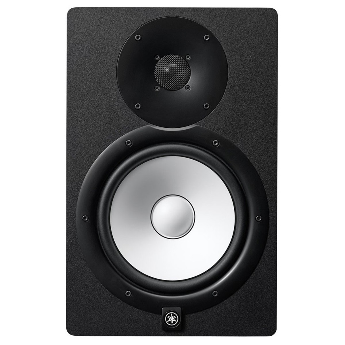 yamaha hs8 active studio monitors pair with stands and cables at. Black Bedroom Furniture Sets. Home Design Ideas