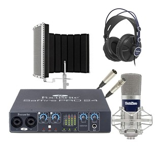Focusrite Saffire Pro 24 Studio Bundle, Exclusive to Gear4music